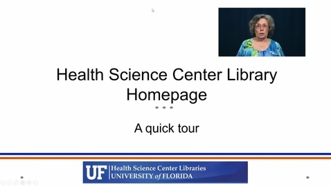 Thumbnail for entry Library Homepage