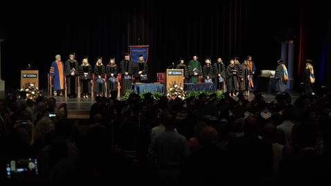 Thumbnail for entry 2016 Spring Graduation Ceremony - Gainesville