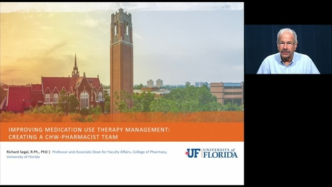 Thumbnail for entry Video 1: Introduction to the UF CHW Training Program