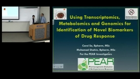 Thumbnail for entry PTR Using Transcriptomics Metabolomics and Genomics