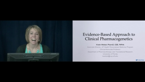 Thumbnail for entry Evidence-Based Approach to Clinical Pharmacogenetics part II