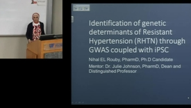 Thumbnail for entry PTR Apr9 Identification of Genetic Determinants of Resistant Hypertension RHTN through GWAS coupled