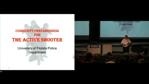 Thumbnail for entry Community Preparedness for the Active Shooter