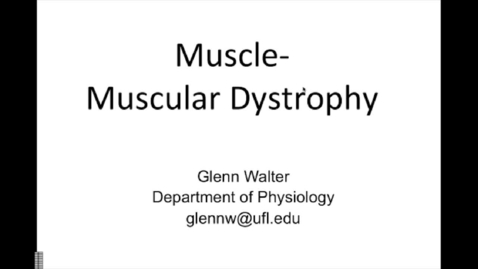 Thumbnail for entry Clinical Correlation MuscularDystrophy