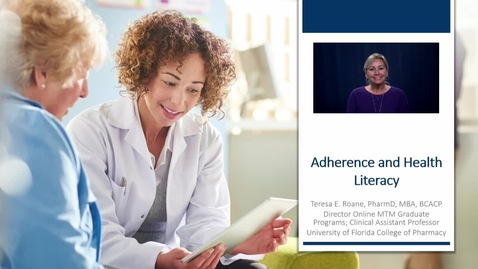 Thumbnail for entry Adherence and Health Literacy