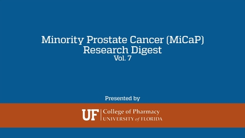 Thumbnail for entry MiCaP Research Digest Volume 7