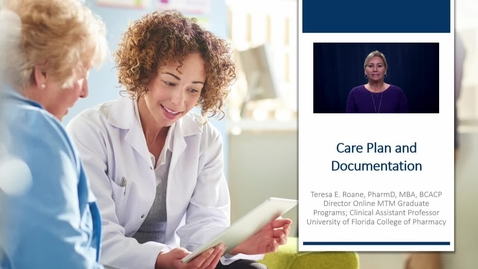 Thumbnail for entry Care Plan and Documentation