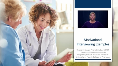 Thumbnail for entry Motivational Interviewing Examples
