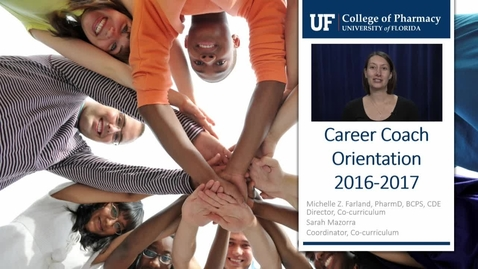 Thumbnail for entry Career Coach Orientation 2016-2017