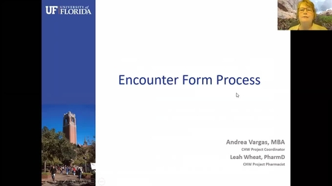 Thumbnail for entry Encounter Form Process