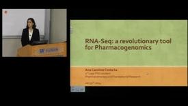 Thumbnail for entry PTR Seminar = RNA-Seq : A revolutionary tool for Pharmacogenomics
