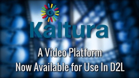 Thumbnail for entry An Overview of Kaltura