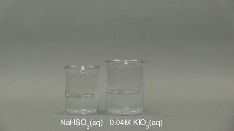 Thumbnail for entry iodine clock part 2 vs Temperature