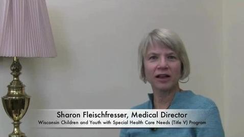 Thumbnail for entry Sharon Fleischfresser