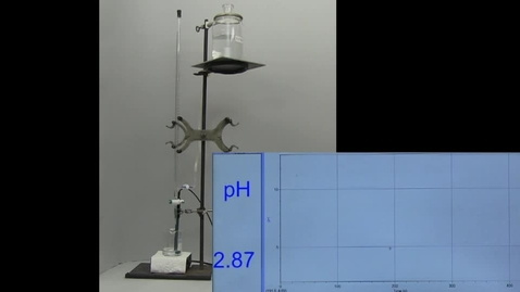 Thumbnail for entry Titration CH3COOH  Methyl Red