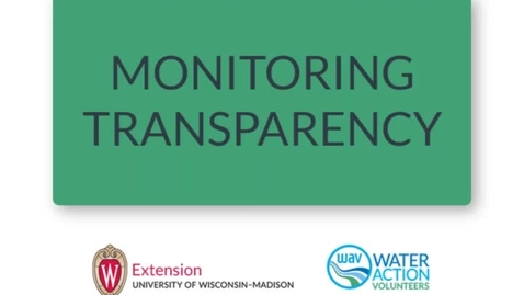 Thumbnail for entry Monitoring Transparency