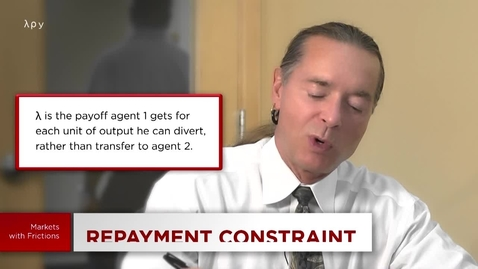 Thumbnail for entry 5.6 Credit and Banking: Repayment Constraint