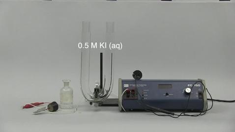 Thumbnail for entry Electrolysis of KI