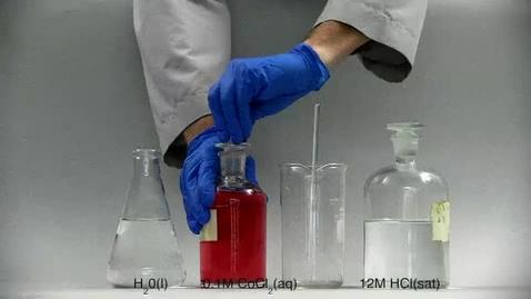Thumbnail for entry Cobalt Chloride Equilibrium