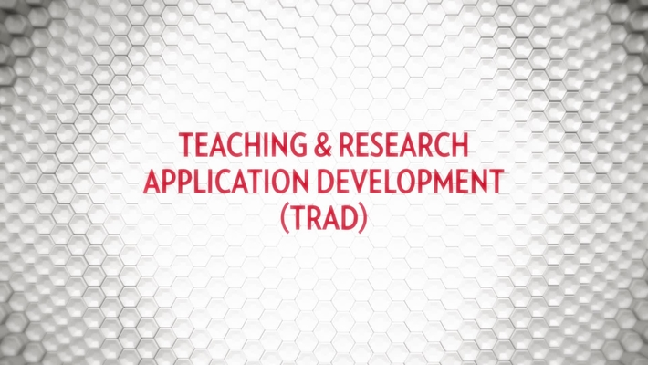 DoIT AT - Teaching & Research Application Development (TRAD)