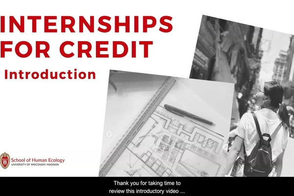 Internships For Credit University Of Wisconsin Madison School Of Human Ecology