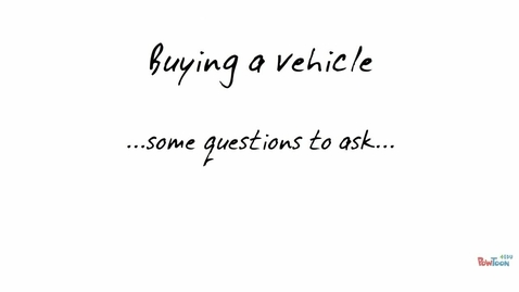 Thumbnail for entry CNSR SCI 111- Buying a Vehicle