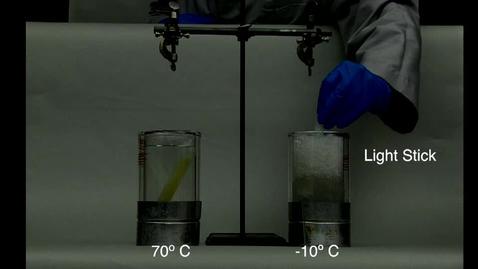 Thumbnail for entry Light Stick Kinetics vs Temp