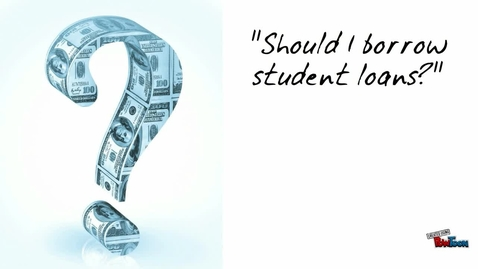 Thumbnail for entry CNSR SCI 111 - Student Loan focus