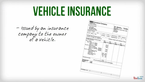 Thumbnail for entry CNSR SCI 111 - Vehicle Insurance