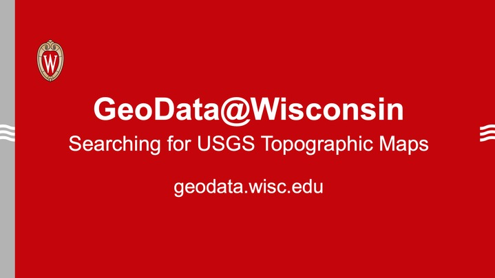Thumbnail for channel GeoData@Wisconsin