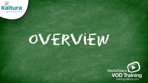 Thumbnail for entry MediaSpace Overview   Kaltura Tutorial