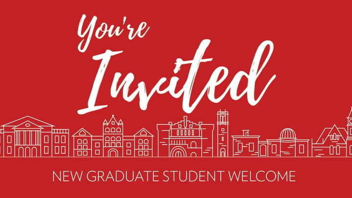 Thumbnail for channel New Graduate Student Welcome 2020