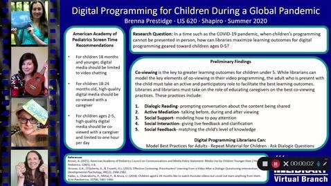 Thumbnail for entry Prestidge LIS 620 Virtual Poster Presentation