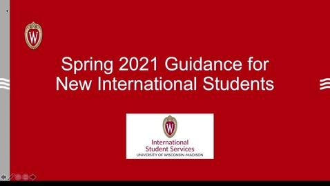 Thumbnail for entry ISS  Guidance for New International Students_Spring 2021 ISO