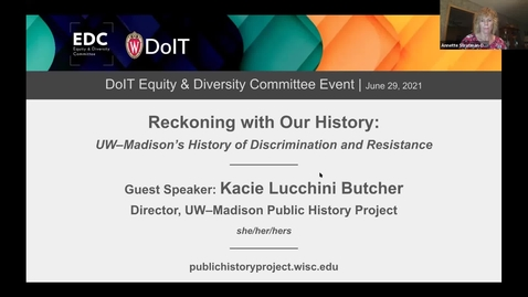 Thumbnail for entry Reckoning With Our History: UW-Madison's History of Discrimination and Resistance
