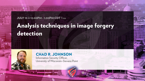 Thumbnail for entry Analysis Techniques in Image Forgery Detection