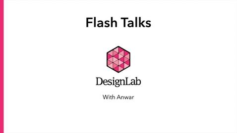 Thumbnail for entry Designing Flash Talks (PechaKucha or Ignite Style) -- An Addendum