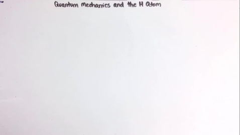 Thumbnail for entry quantum mechanics