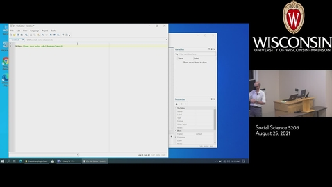 Thumbnail for entry DWS -Reading-Text-Data-Douglas Hemken-08/25/21