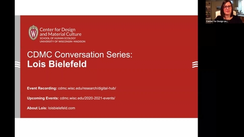 Thumbnail for entry CDMC Conversation Series: Lois Bielefeld