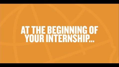 Thumbnail for entry Make the Most of Your Internship