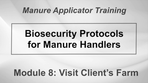 Thumbnail for entry LM_WS_DS_M8-2 Biosecurity Protocols