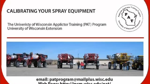 Thumbnail for entry 1.1_011_FV_Calibrating Your Spray Equipment