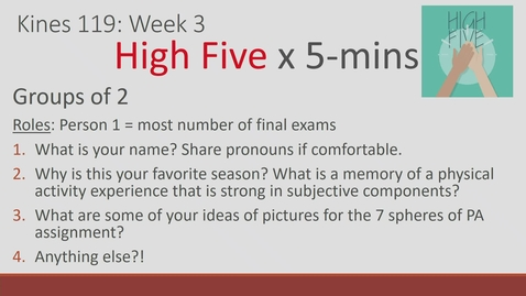 Thumbnail for entry Lecture #5 - 09/23/21
