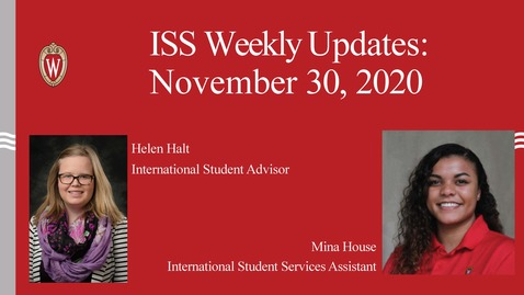 Thumbnail for entry ISS Weekly Updates Video November 30- December 4