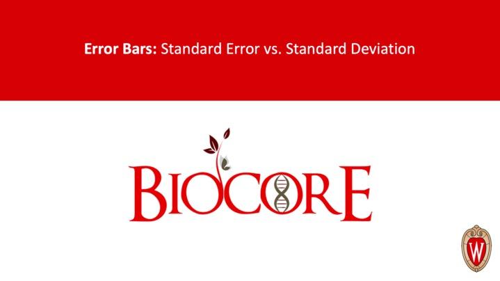 Thumbnail for channel Biocore Statistics Videos