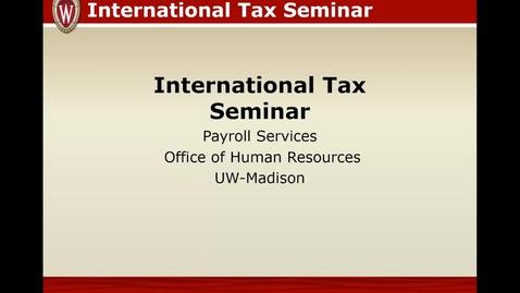 Thumbnail for entry HR International Tax Seminar 2020
