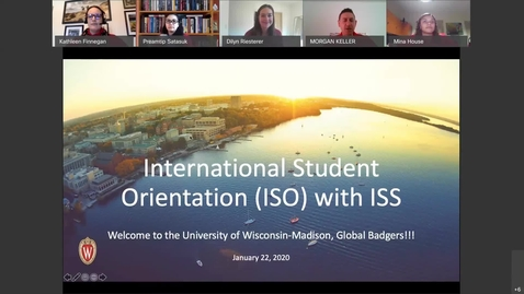 Thumbnail for entry International Student Orientation Live Session- Spring 2021