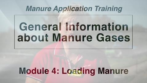 Thumbnail for entry L WS DS M4-2 General Information on Manure Gases