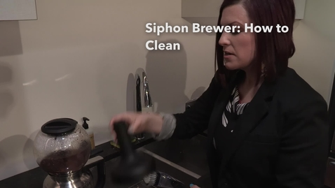 Thumbnail for entry How to Clean   Siphon Coffee Brewer